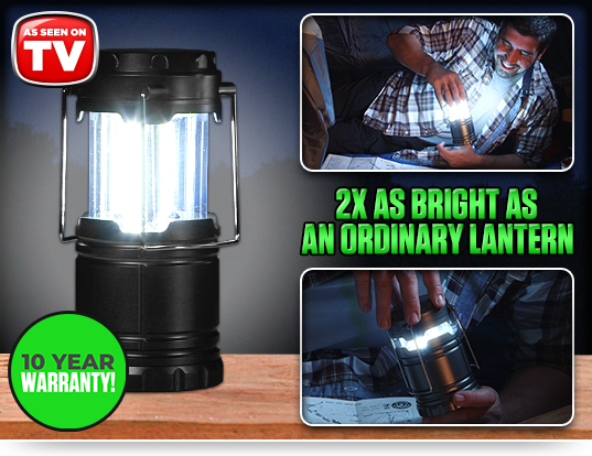 2X AS BRIGHT AS AN ORDINARY LANTERN